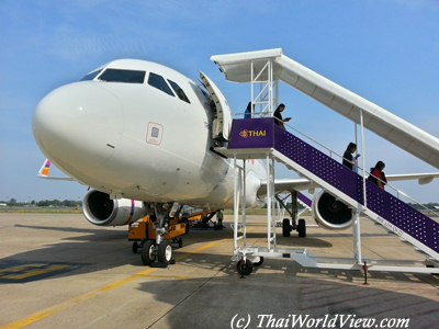 Plane to Ubon Ratchathani